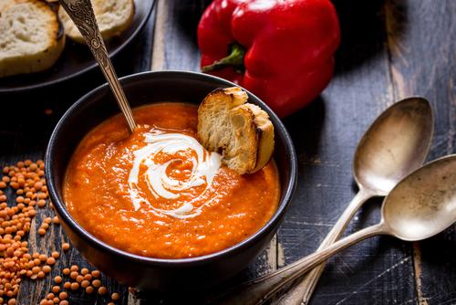 Comment faire une soupe de l gumes fiche technique - Soupe de legume maison ...