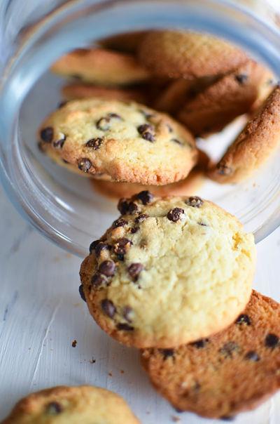 Cookies moelleux aux p pites de chocolat recette - Recette cookies chocolat moelleux ...