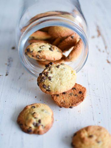 Recette de cookies moelleux aux pépites de chocolat
