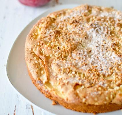 Recette de gâteau aux pommes, le tôt fait