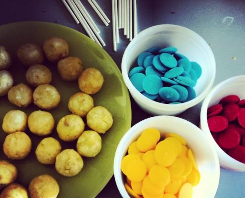 Tuto cake pops - cake balls