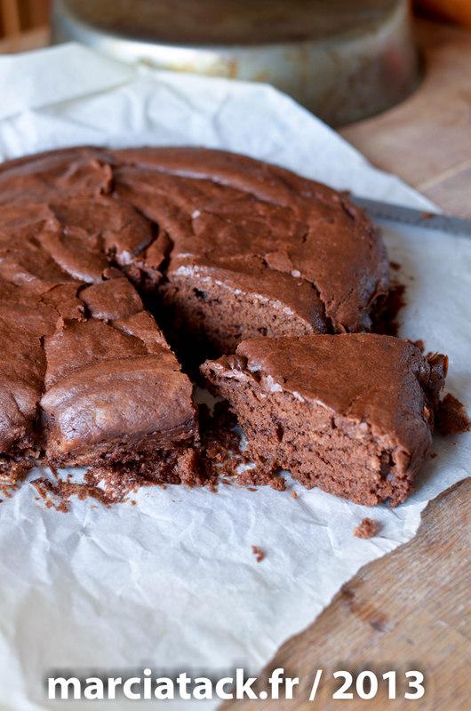 Gateau chocolat sans oeufs - Gateau au chocolat sans four ...