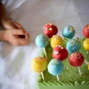 Recette de cake pops, sucettes-gateau
