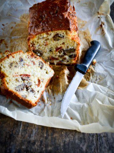 Recette de cake roquefort et noix