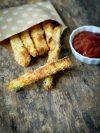 Recette de frites de courgettes