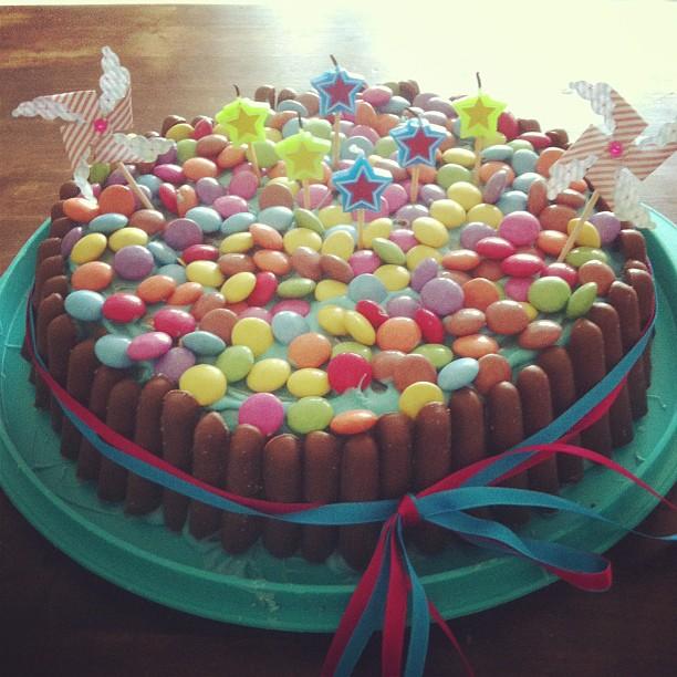 gâteau-aux-bonbons