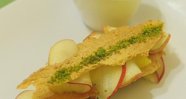 dessert à la nectarine
