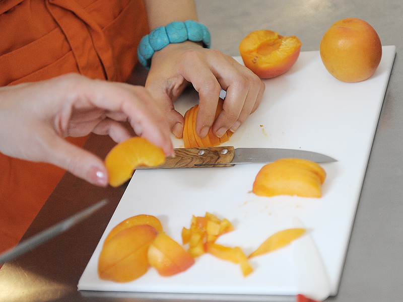 Lasagnes verde au tajine de poulet et abricots