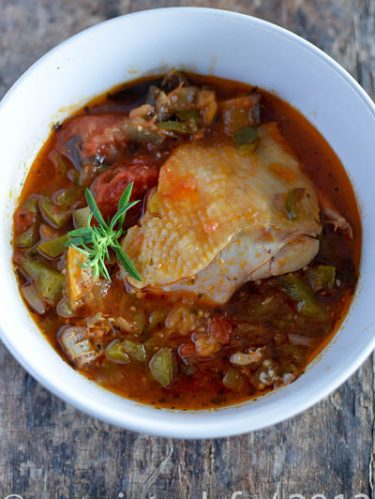 Recette de poulet à la provençale