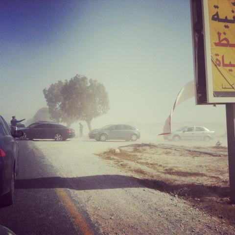 Sur la route de Tagahzout