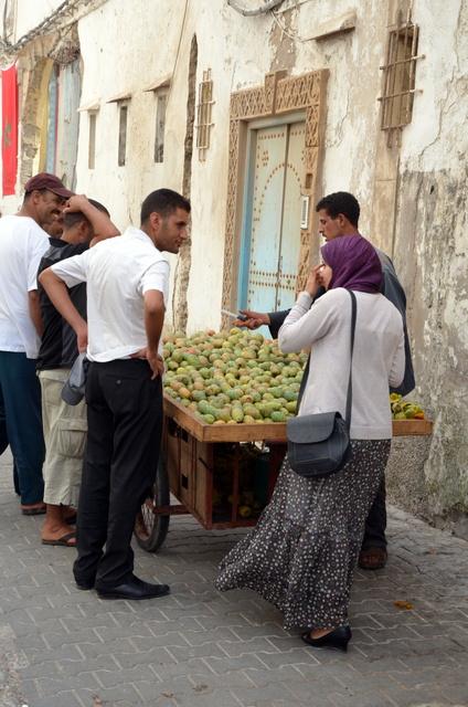 Vendeur de figues de barbarie