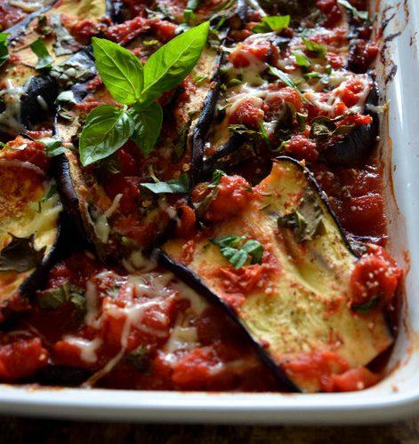 Recette du gratin d'aubergines et tomate