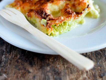 Recette de lasagnes de courgettes et chèvre basilic