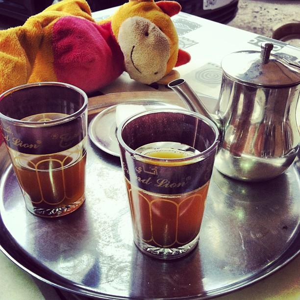 Petite pause thé à la menthe