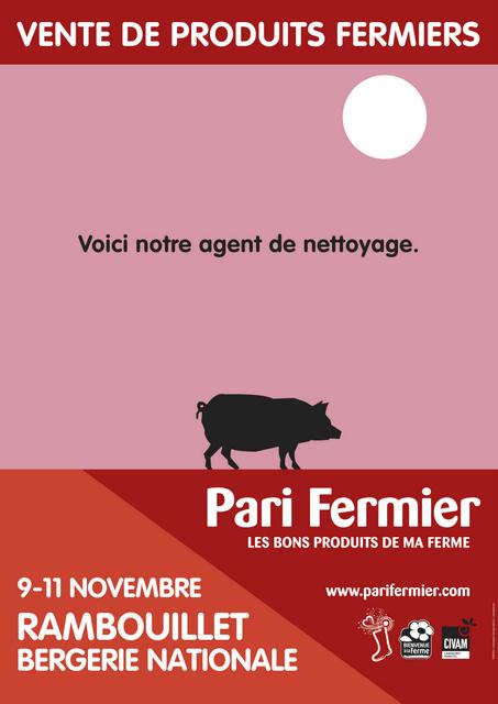 """De bons produits de la ferme au """"Paris Fermier"""""""