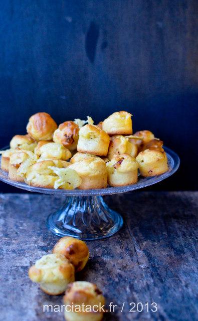 mini muffins au fromage raclette et chorizo recette. Black Bedroom Furniture Sets. Home Design Ideas