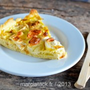 Recette de la tarte aux poireaux