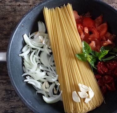 one pat pasta, recette de Martha Stewart