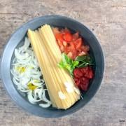 Recette du one pan pasta
