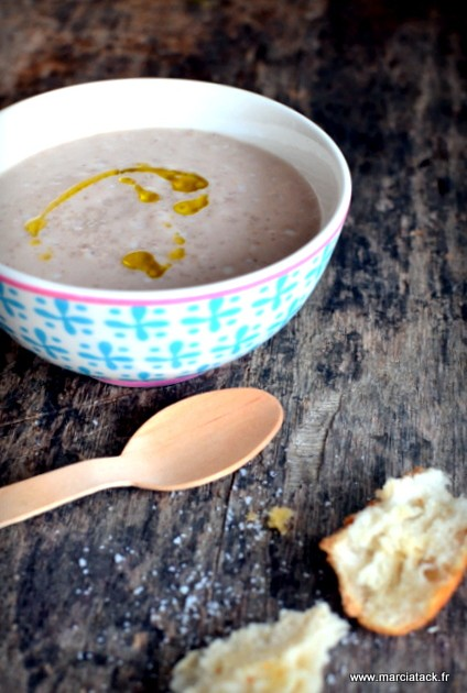 Recette facile de soupe de chataigne