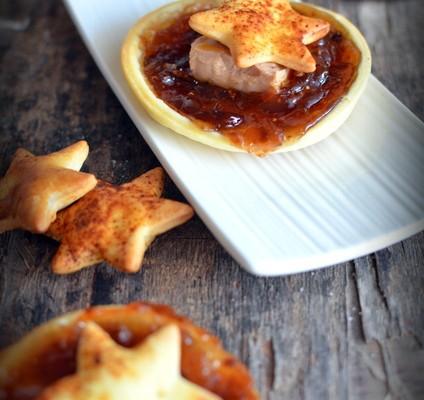 Recette de Noël : feuilleté de foie gras aux figues