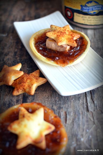 recette feuilletés foie gras