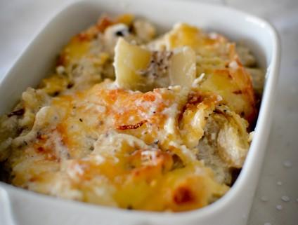 Recette du gratin de cardons aux truffes, recette Provençale