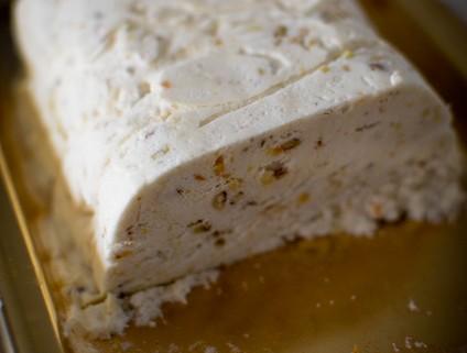 Recette facile du nougat glacé fait maison