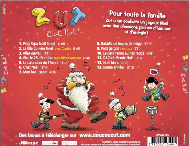 Zut sort un album de Noël