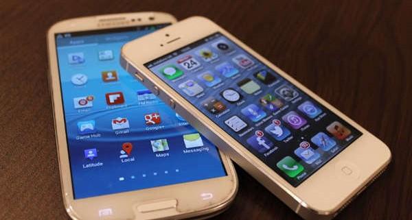 Comparaison iphone et S4