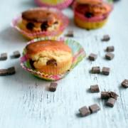Recette de muffins rapide au pépites de chocolat