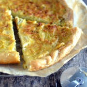 Recette facile de la flamiche ou tarte aux poireaux
