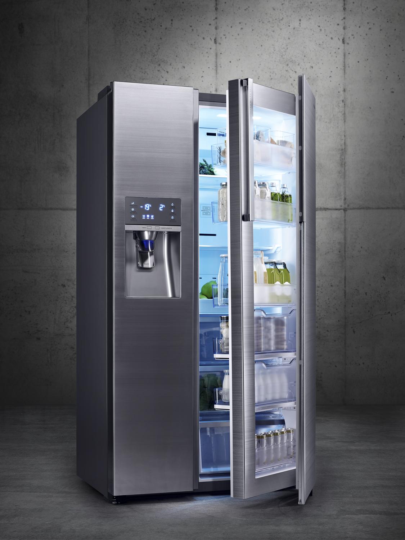 Avis sur le frigo samsung food showcase - Rangement frigo americain ...