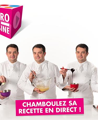 """""""Impro en cuisine"""", la première émission web interactive"""