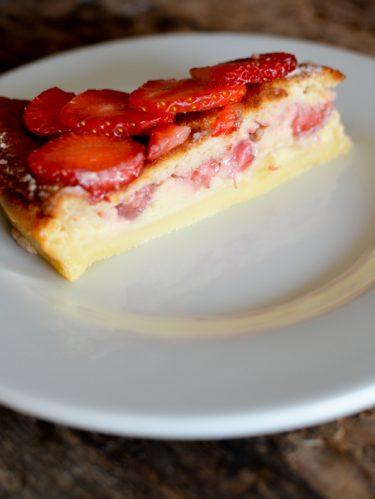 Recette du gateau magique aux fraises
