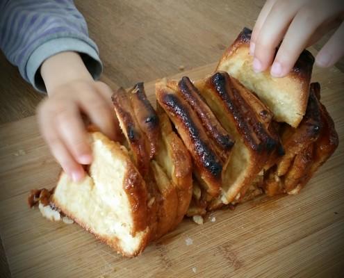 Recette de la brioche à effeuiller : le pull appart bread