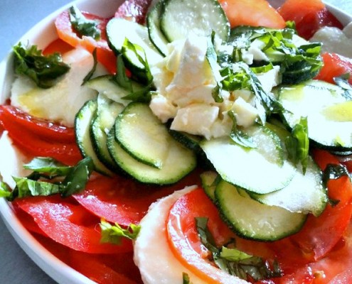 Recettes salades entr es froides marcia 39 tack for Entrees froides