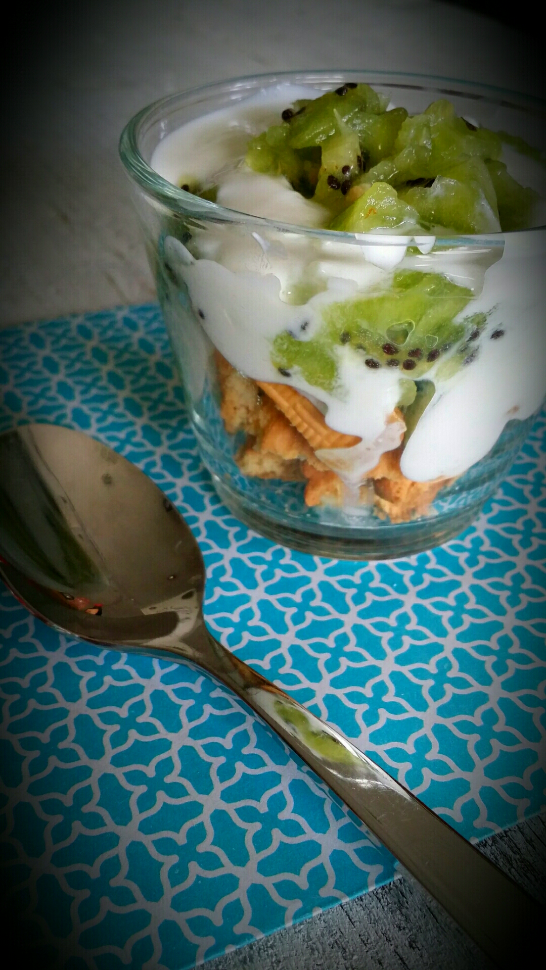 trifle au kiwi un dessert rapide et facile tout l 233 ger marciatack fr