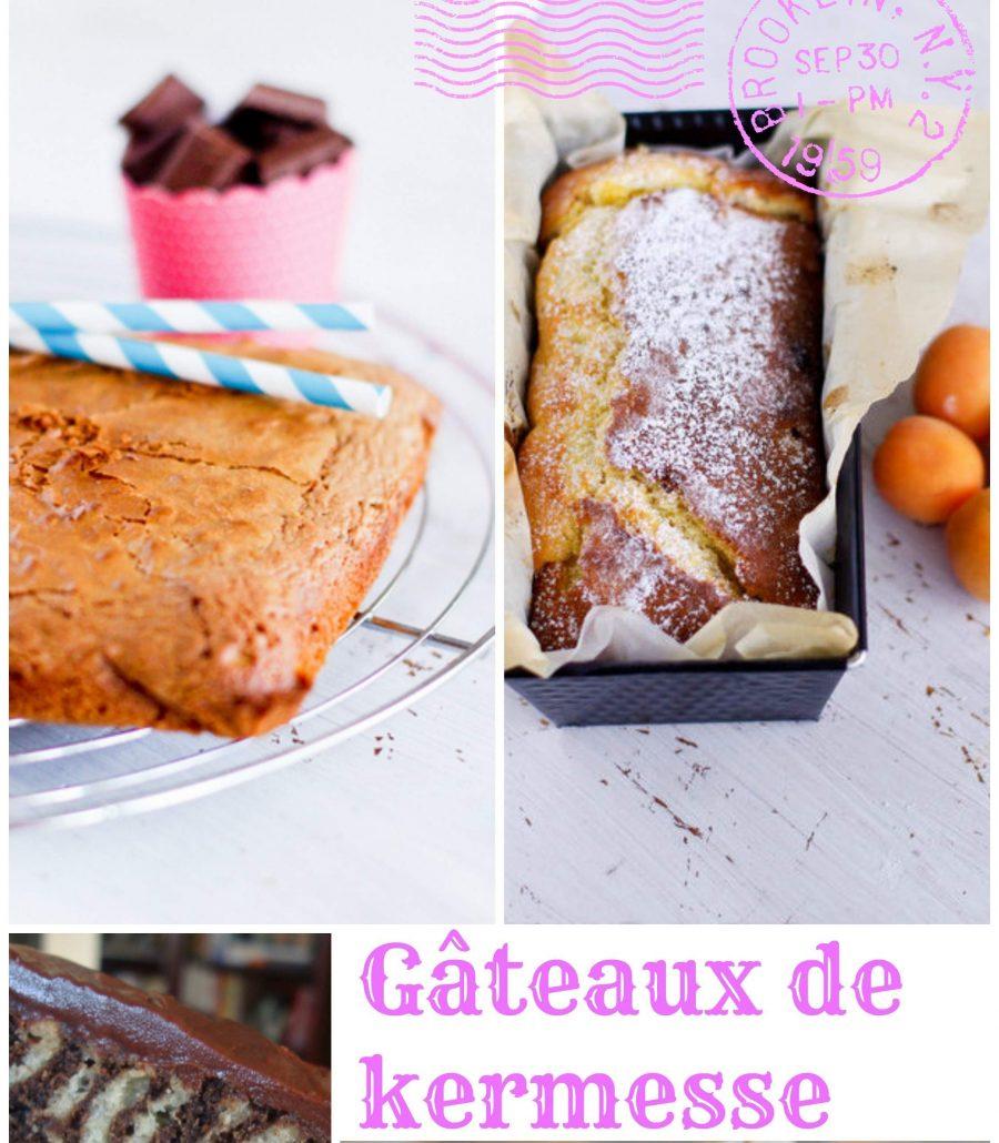 gâteaux de kermesse