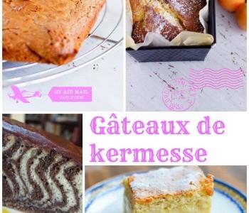 idées recettes pour les gâteaux de kermesse