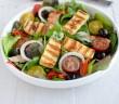 Salade de jeunes pousses au grillis