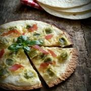 Recette pizza maison rapide aux fajitas
