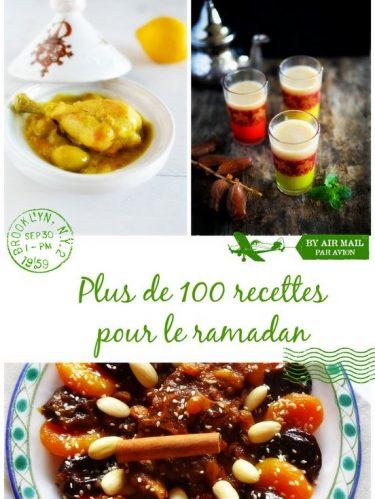 Idées recettes ramadan 2018