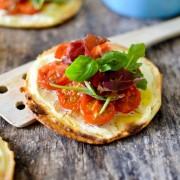 Recette tarte apéro tomates cerises