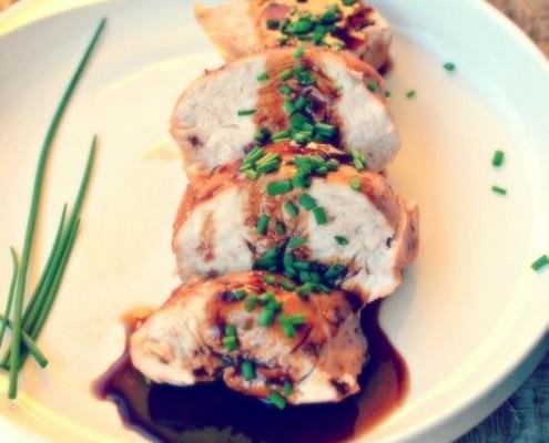 Recette de poulet orange et vinaigre balsamique