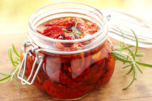 Tomates sechees fait maison