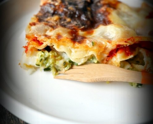 Recette lasagnes courgettes tomates