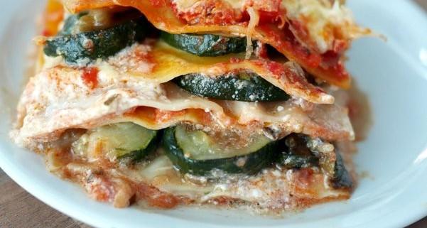 recette de lasagnes aux l gumes d 39 t. Black Bedroom Furniture Sets. Home Design Ideas