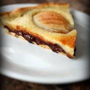 Recette facile de tarte poire chocolat