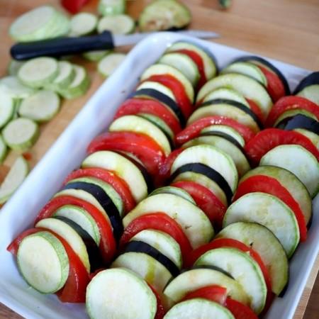 Recette de gratin de légumes provençal